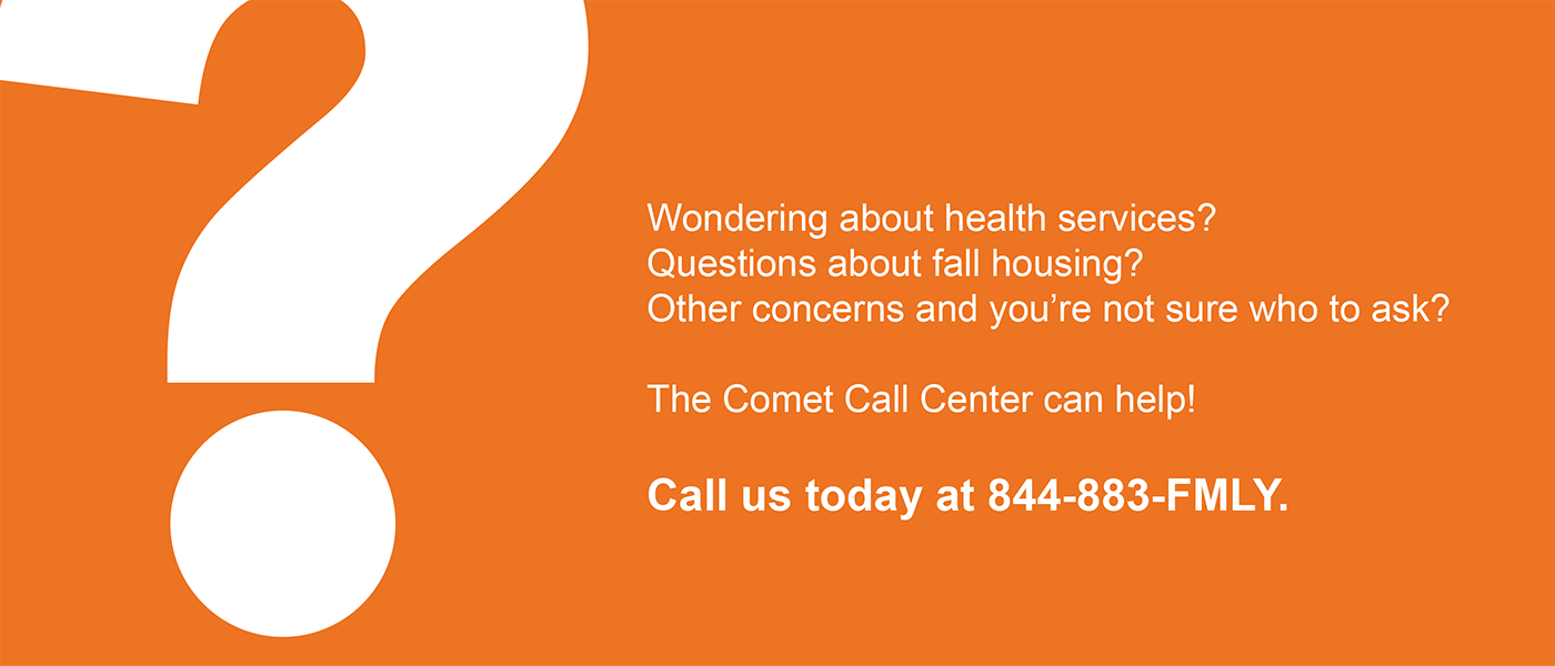 Comet Call Center 844-883-FMLY